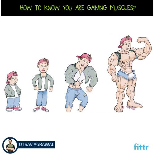 How to know you are gaining muscle