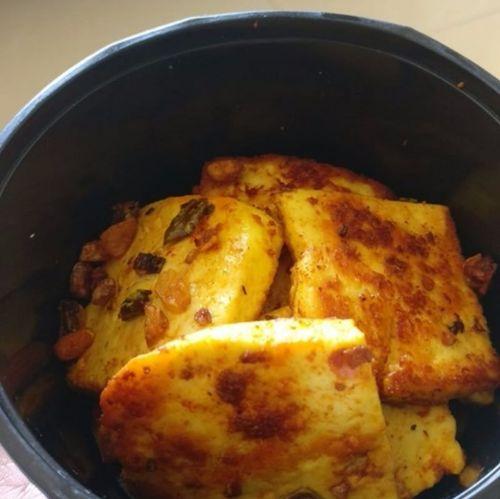 Paneer Garlic Chilly Saute