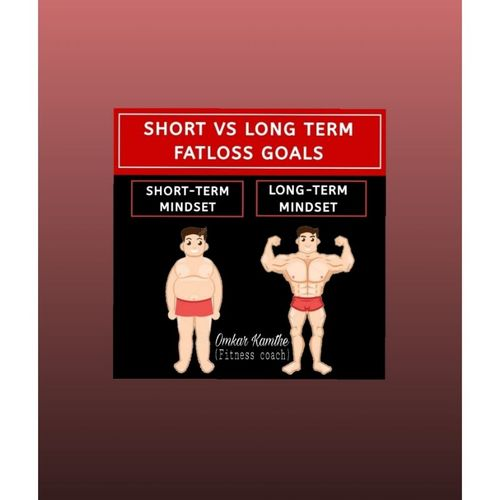 SHORT TERM vs LONG TERM GOALS 💪
