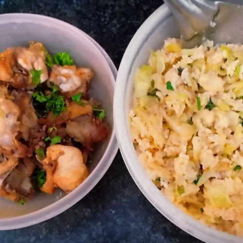 Cabbage rice & Chicken