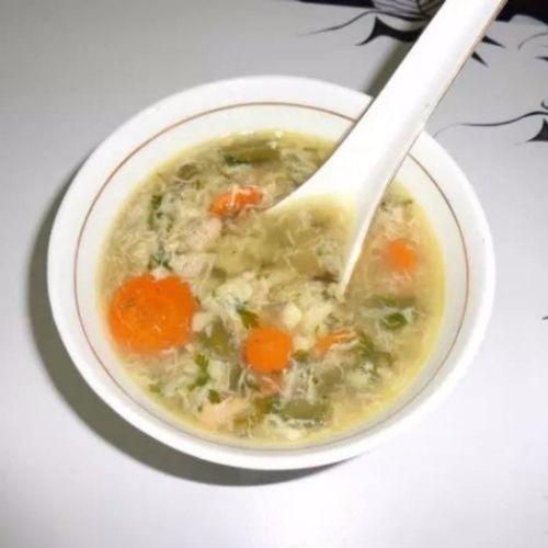 Lemon Coriander Chicken Soup