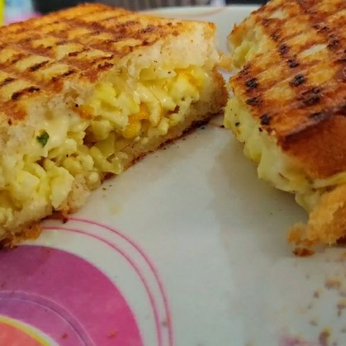 Grilled Paneer Cheese Sandwich