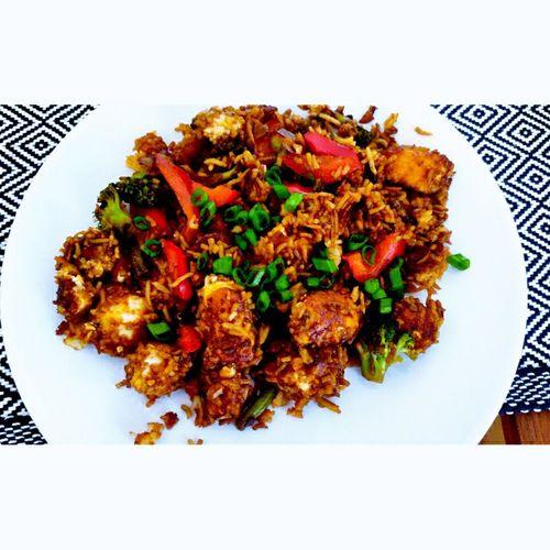 Paneer Peking Rice