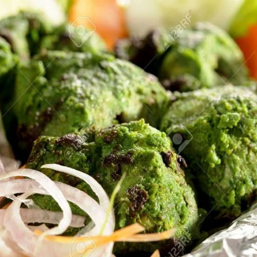 Pudina chicken Tikka Air Fried