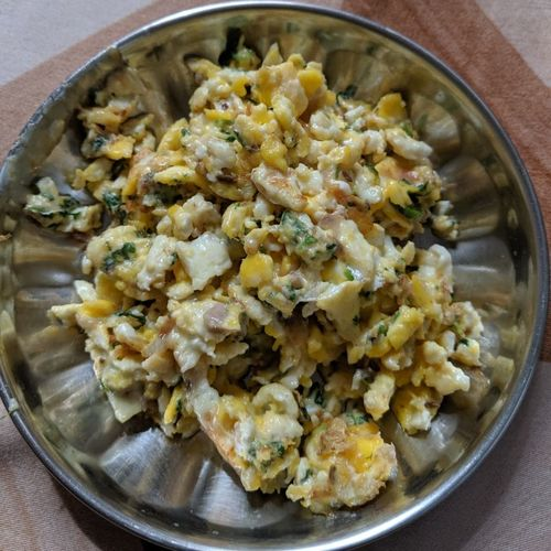 Cheese Egg Bhurji