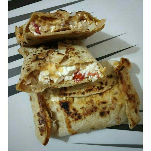 Chapati wrap