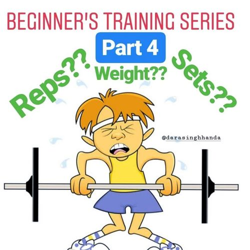 BEGINNER'S TRAINING SERIES PART 4- THE SETS, THE REPS AND THE WEIGHT!