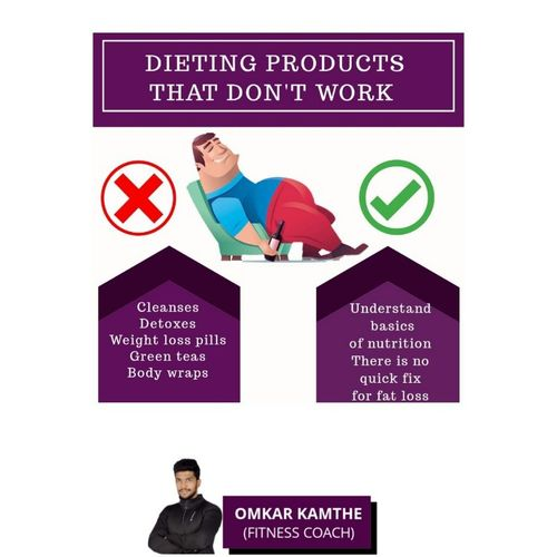 DIETING PRODUCTS THAT DON'T WORK ❌❌