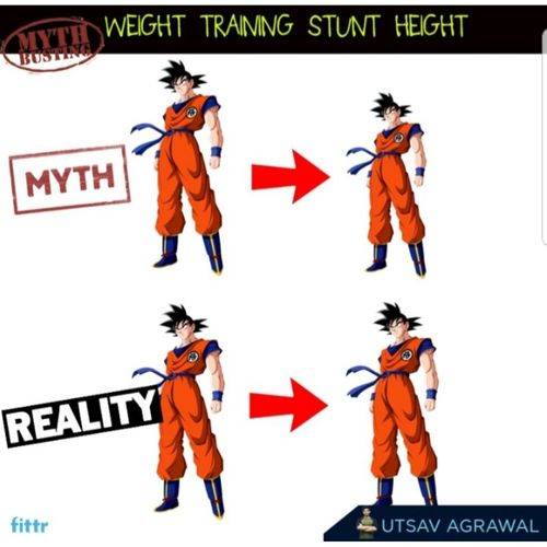Myth-busting - Weight training stunts height