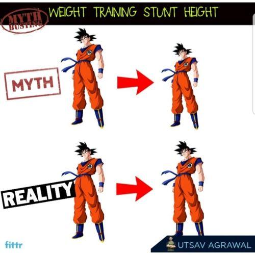 Myth-busting - Weight training stunts height