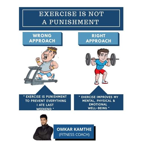 EXERCISE IS NOT A PUNISHMENT ❌