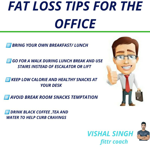 """FAT LOSS TIPS FOR THE OFFICE"""