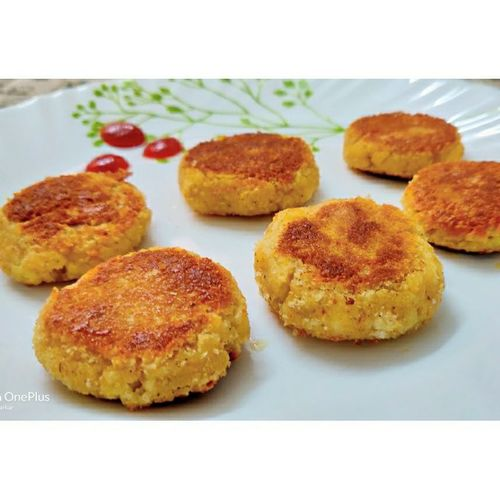 Cheese Paneer Cutlet(tastes like Parle Cheeseling)