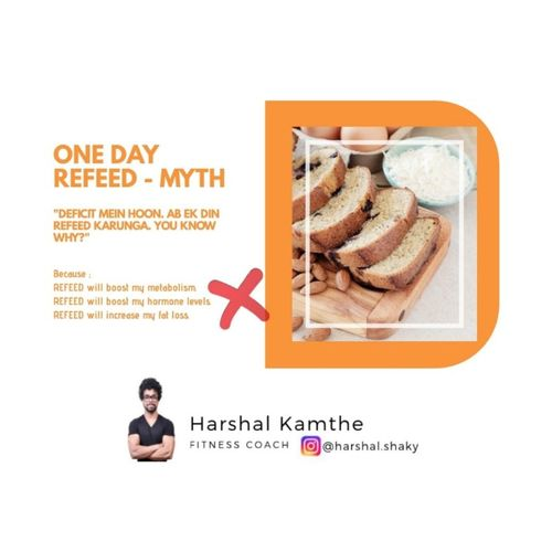 ONE DAY REFEED MYTHS.