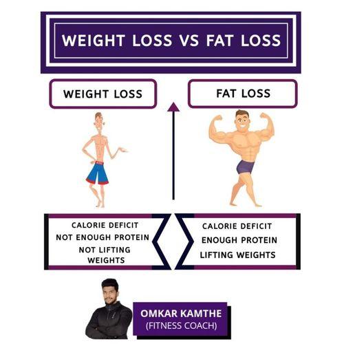 WEIGHT LOSS VS FAT LOSS 🤔🧐🧐