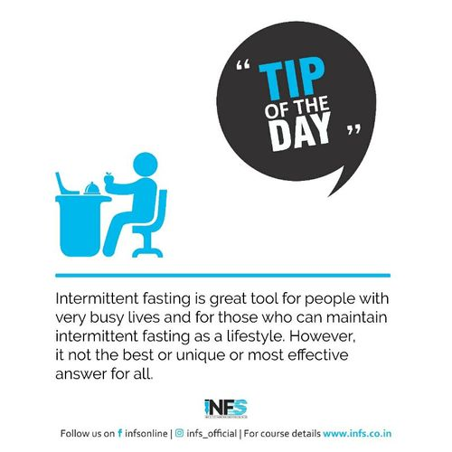Tip of the Day - Intermittent Fasting
