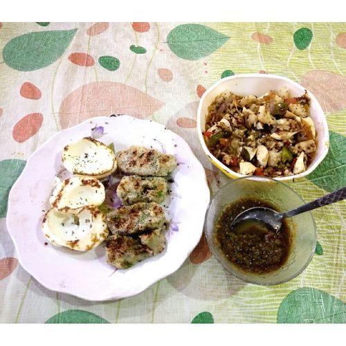 #EggBiryani #FriedEggs #AaluTikki #MintChatni