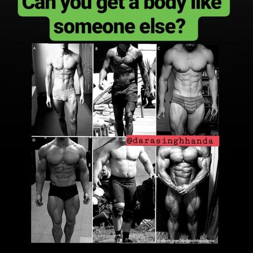 CAN YOU GET A BODY LIKE SOMEONE ELSE?