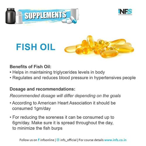 Benefits of Fish Oil Supplement
