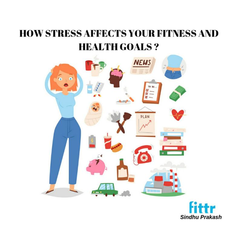 **HOW STRESS AFFECTS YOUR FITNESS AND HEALTH GOALS**