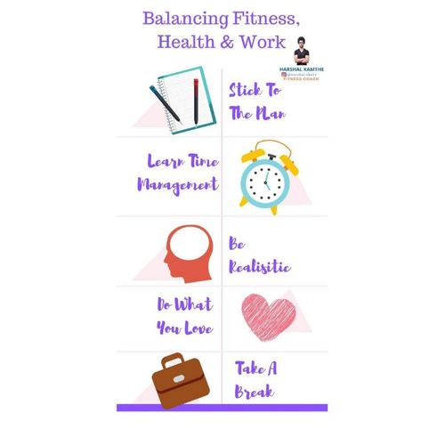 BALANCING FITNESS, HEALTH AND WORK.