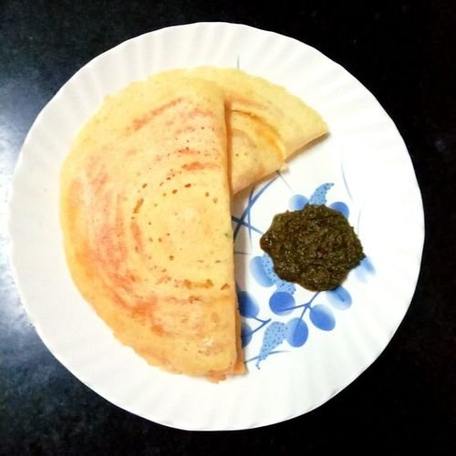 lentils-rice crepes