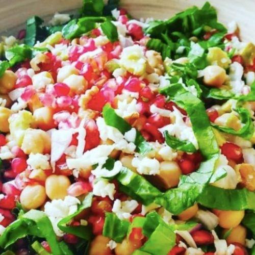 Spinach Benas Cheese Salad