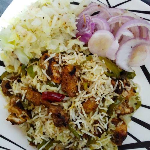 Chicken Mixed Veg Fried Rice