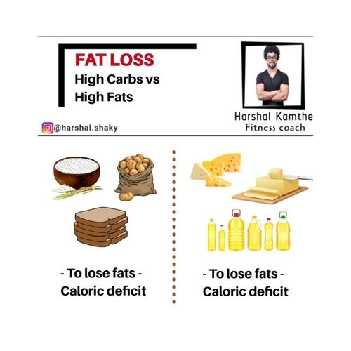 HIGH CARBS VS HIGH FATS