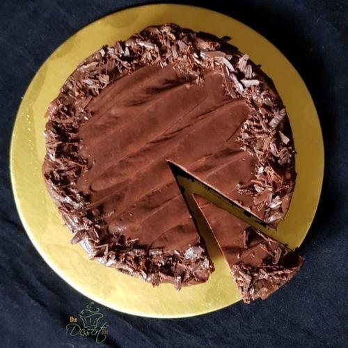 Keto choc cake