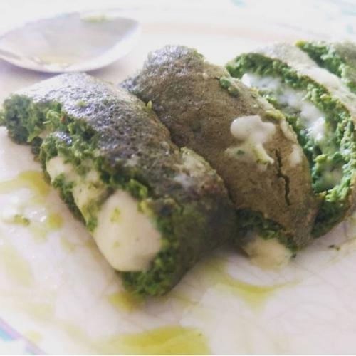 keto green omlet