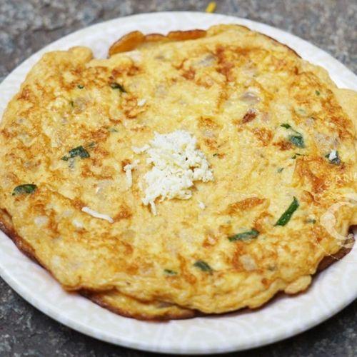 Paneer Egg Omlette