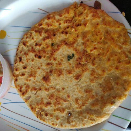 paneer cheese paratha