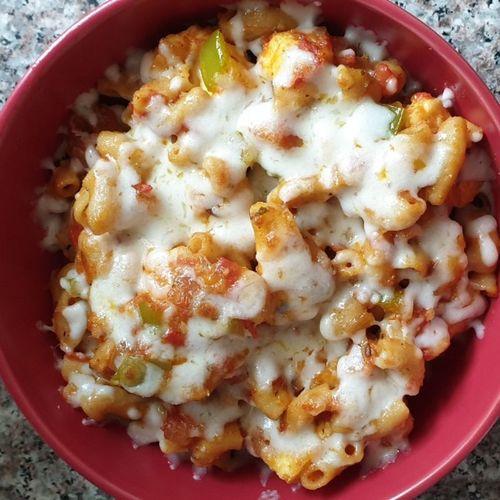 Veg paneer pasta