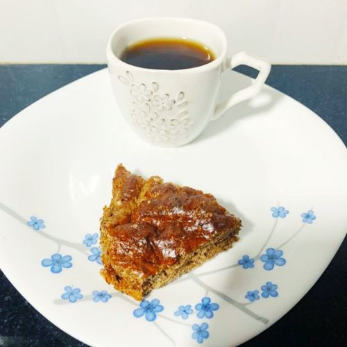 Coffee time protien cake