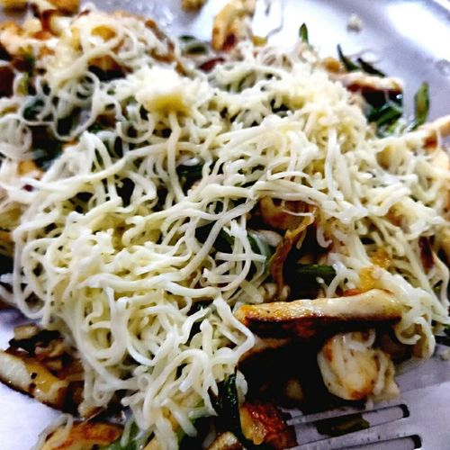 Shredded Paneer and Zuchinni