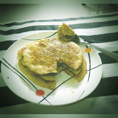 Homemade Apple Pancakes