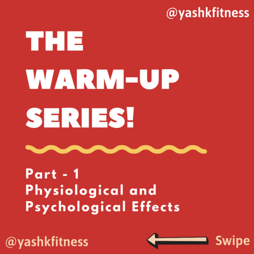 🔥 The Warm-Up Series: Part - 1 🔥