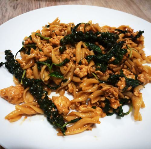 Thai Chicken Basil Pasta