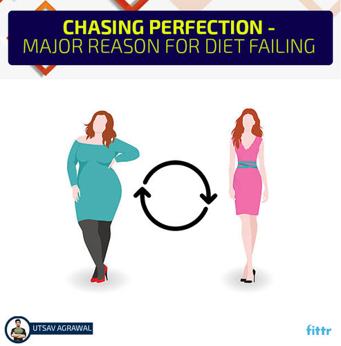 Chasing Perfection - Major Reason For Diet Fail
