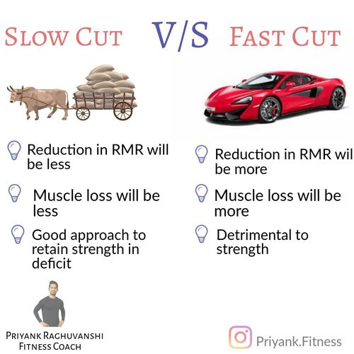 🚜SLOW DIETING V/S FAST DIETING🚓