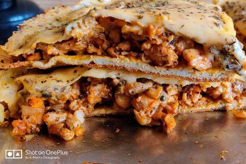 Minced Chicken(Keema) Lasagna