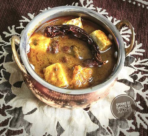 Paneer Rajma gravy
