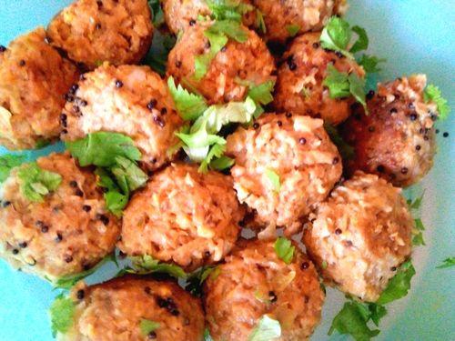 Soya balls (muthia)