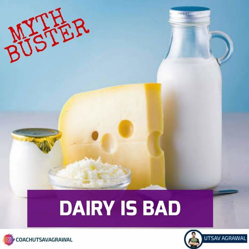 Myth Busting : Dairy is bad