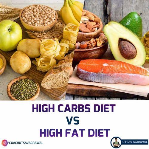 High Carb Vs High Fat Diet