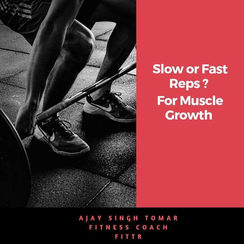 !! Slow OR Fast Reps ? For Muscle Growth 💪💪 !!