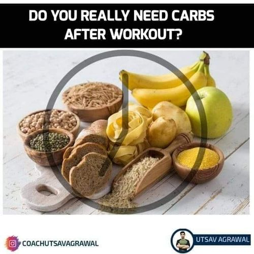 Do you really need carbohydrates post-workout?