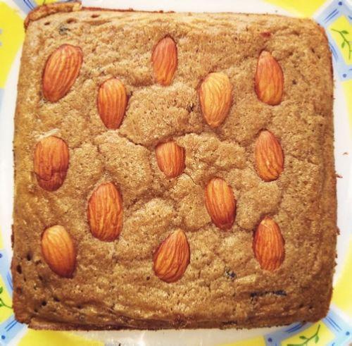 Whey-oats cake