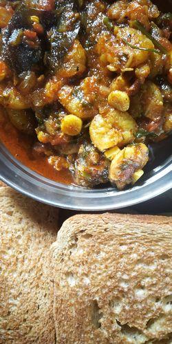 Sour &  Spicy Prawns Sukka Masala.